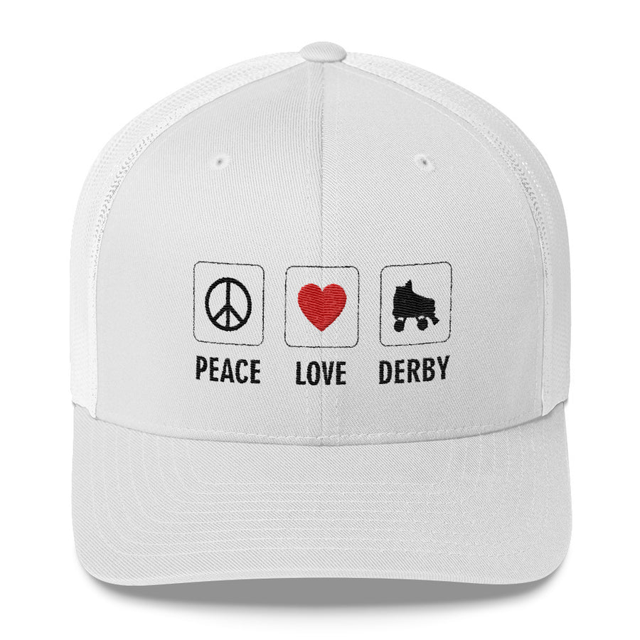 Trucker Cap - Peace Love Derby