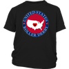 Youth Shirt - USA Seal of Roller Derby - Roller Derby themed apparel by RollerDerby.Love