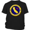 Youth Shirt - California Seal of Roller Derby Derby themed apparel - Roller Derby Love