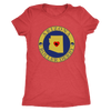 Womens Triblend - Arizona Seal of Roller Derby