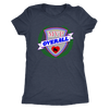 Womens Triblend - MVP Overall - Roller Derby themed apparel by RollerDerby.Love