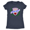 Womens Triblend - MVP After-Party Derby themed apparel - Roller Derby Love