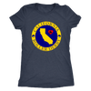 Womens Triblend - California Seal of Roller Derby Derby themed apparel - Roller Derby Love
