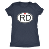 Womens Triblend - RD