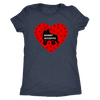 Womens Triblend - Derby Accepts - Roller Derby themed apparel by RollerDerby.Love