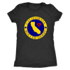 Womens Triblend - California Seal of Roller Derby - Roller Derby themed apparel by RollerDerby.Love