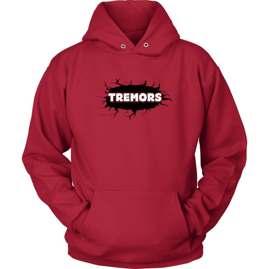Unisex Hoodie - San Diego Tremors Derby themed apparel - Roller Derby Love