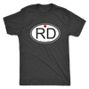 Mens Triblend - RD - Roller Derby themed apparel by RollerDerby.Love