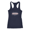 Raceback Tank - San Diego Tremors Derby themed apparel - Roller Derby Love