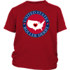 Youth Shirt - USA Seal of Roller Derby Derby themed apparel - Roller Derby Love