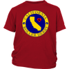 Youth Shirt - California Seal of Roller Derby - Roller Derby themed apparel by RollerDerby.Love