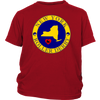 Youth Shirt - New York Seal of Roller Derby - Roller Derby themed apparel by RollerDerby.Love