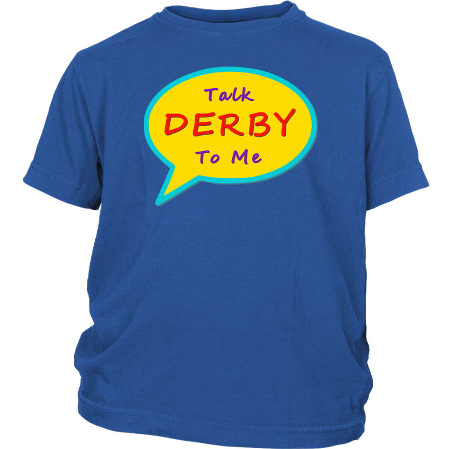 Youth Shirt - Talk Derby To Me