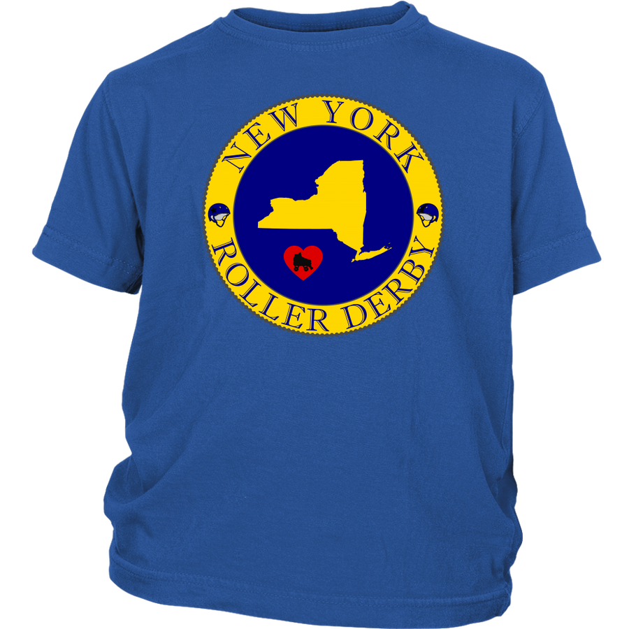 Youth Shirt - New York Seal of Roller Derby