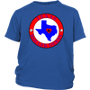 Youth Shirt - Texas Seal of Roller Derby Derby themed apparel - Roller Derby Love
