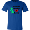 Canvas Shirt - Roller Derby Love - UK - Roller Derby themed apparel by RollerDerby.Love