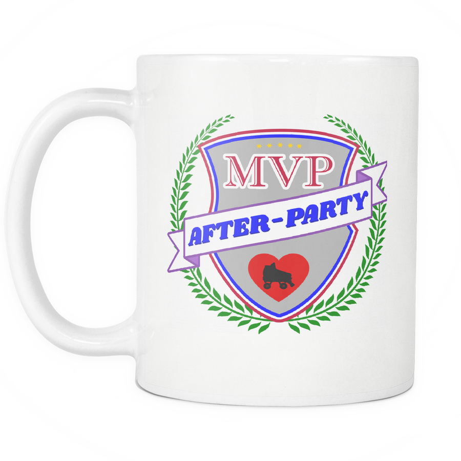 Mug - MVP After-Party Derby themed apparel - Roller Derby Love