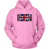 Unisex Hoodie - Roller Derby UK - Roller Derby themed apparel by RollerDerby.Love