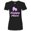 Womens Shirt - Happy Place Derby themed apparel - Roller Derby Love