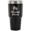 Tumbler - Happy Place Derby themed apparel - Roller Derby Love