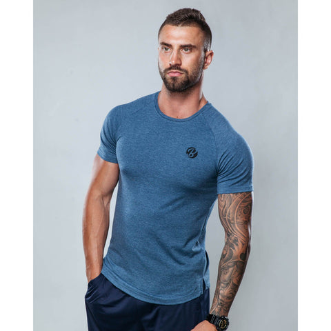 Boodsie Mens Tee Shirt in Blue