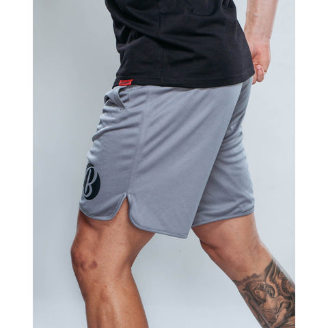 Boodsie A Game Shorts in Grey