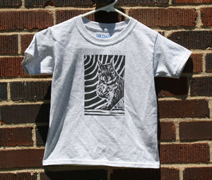 "Light Grey ""Excuse Me"" Squirrel Youth T-Shirt"