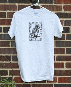 Light Grey Squirrel T-Shirt