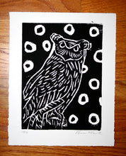 """Owl"" 6"" x 8"", Limited Edition Print of 10"