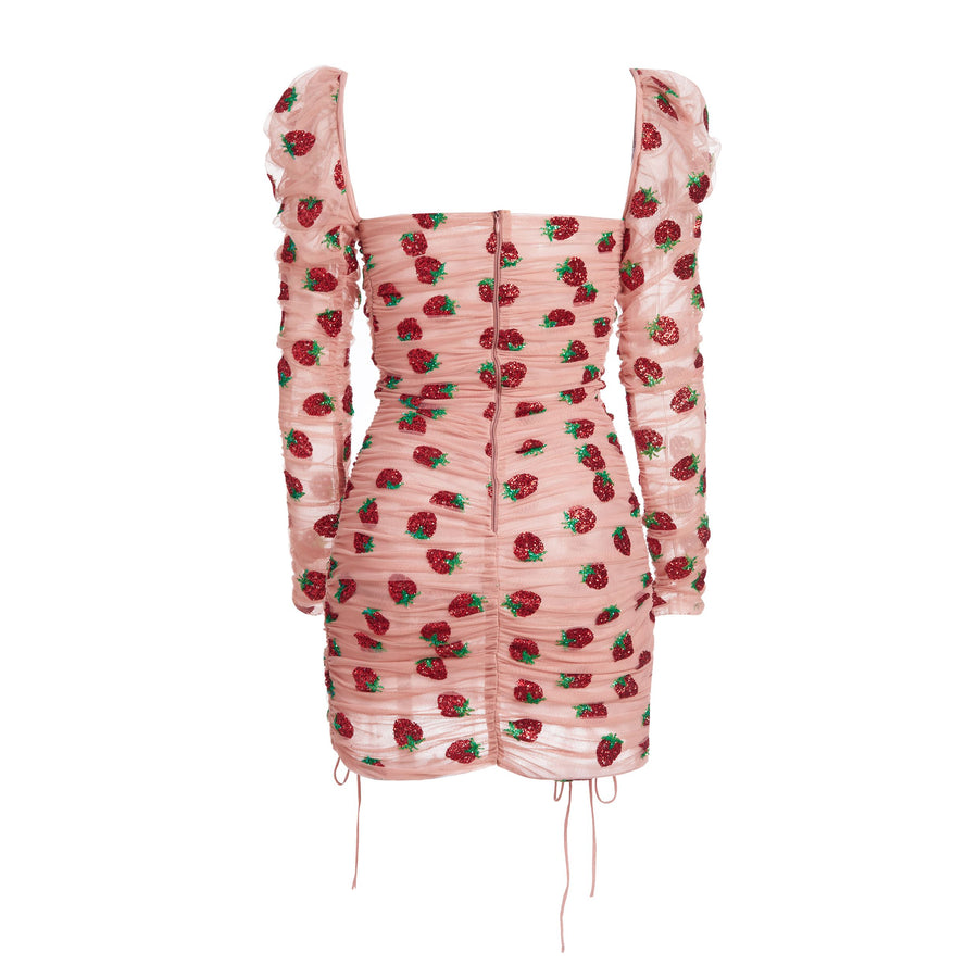 Strawberry Mini Dress