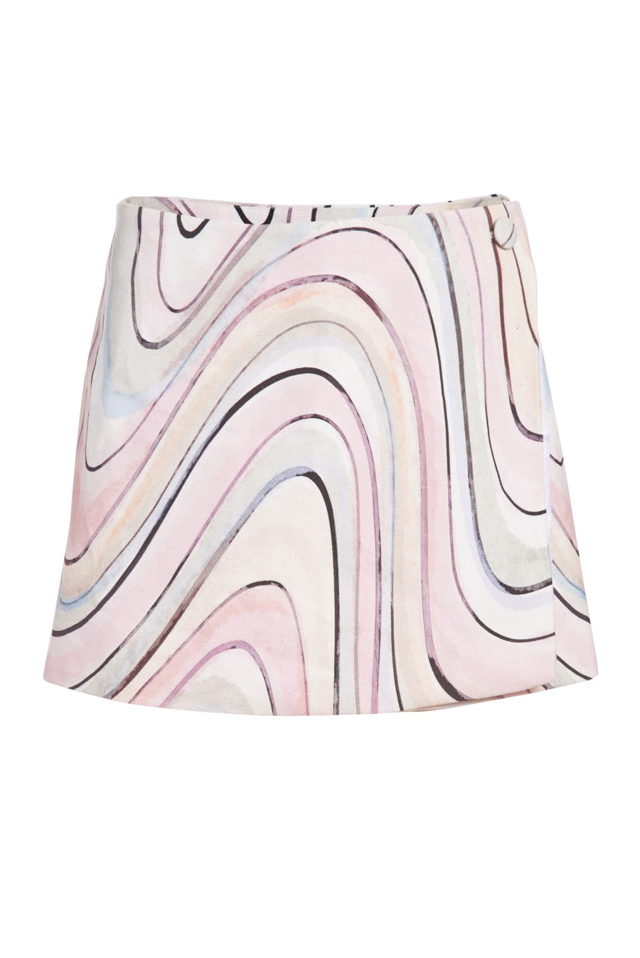 Swirl Mini Skirt