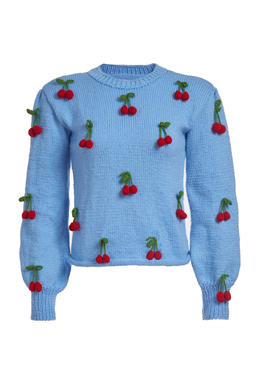Cherries Knit Sweater