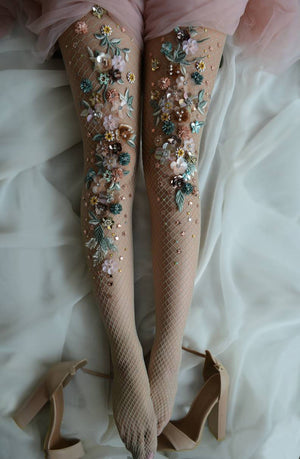 Wild Flowery Tights