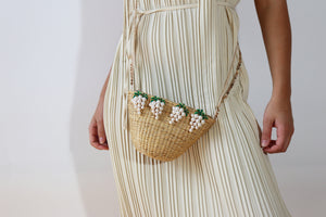 Pearly Grapes Purse