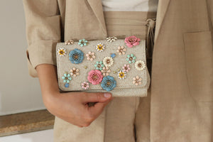 Pastel Bloom Purse