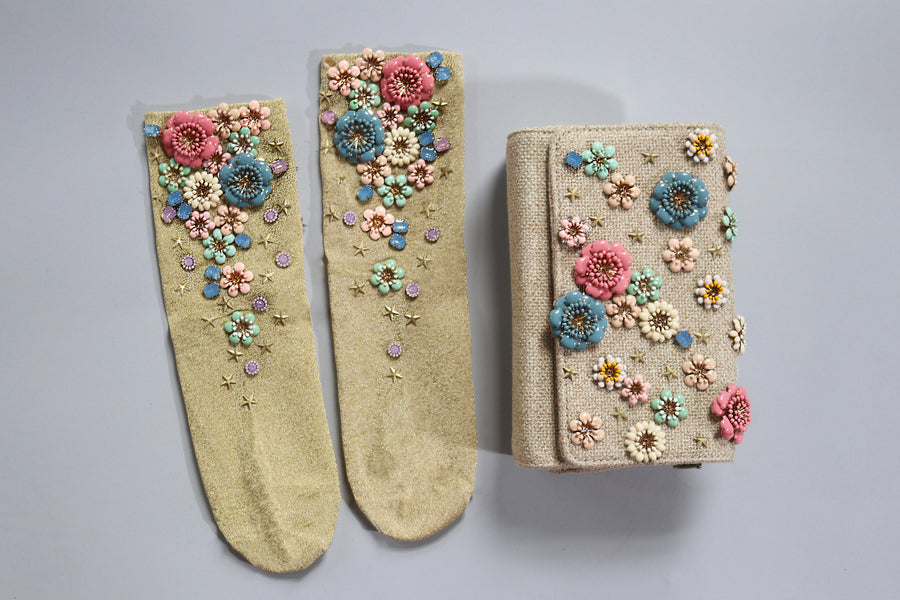 Pastel Bloom Socks