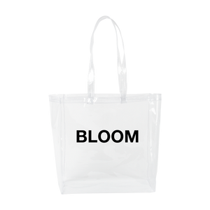 CLEAR BLOOM TOTE