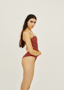 GIA HEART ONE PIECE SWIMSUIT