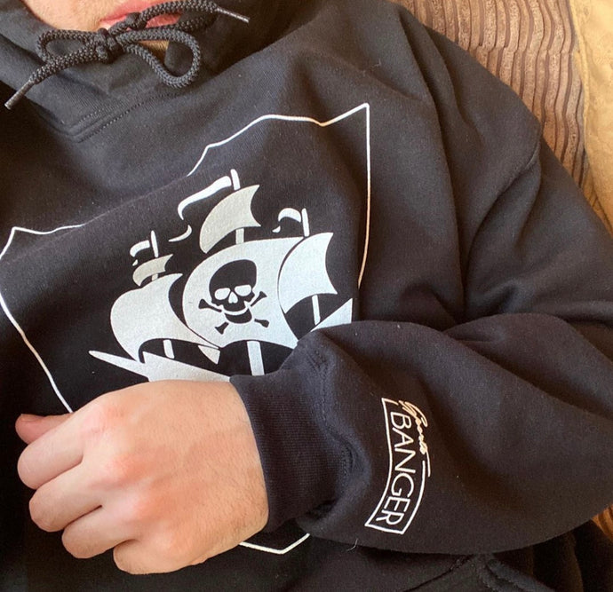 PIRACY HOODED JUMPER