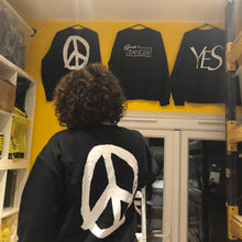 YES PEACE JUMPER BLACK