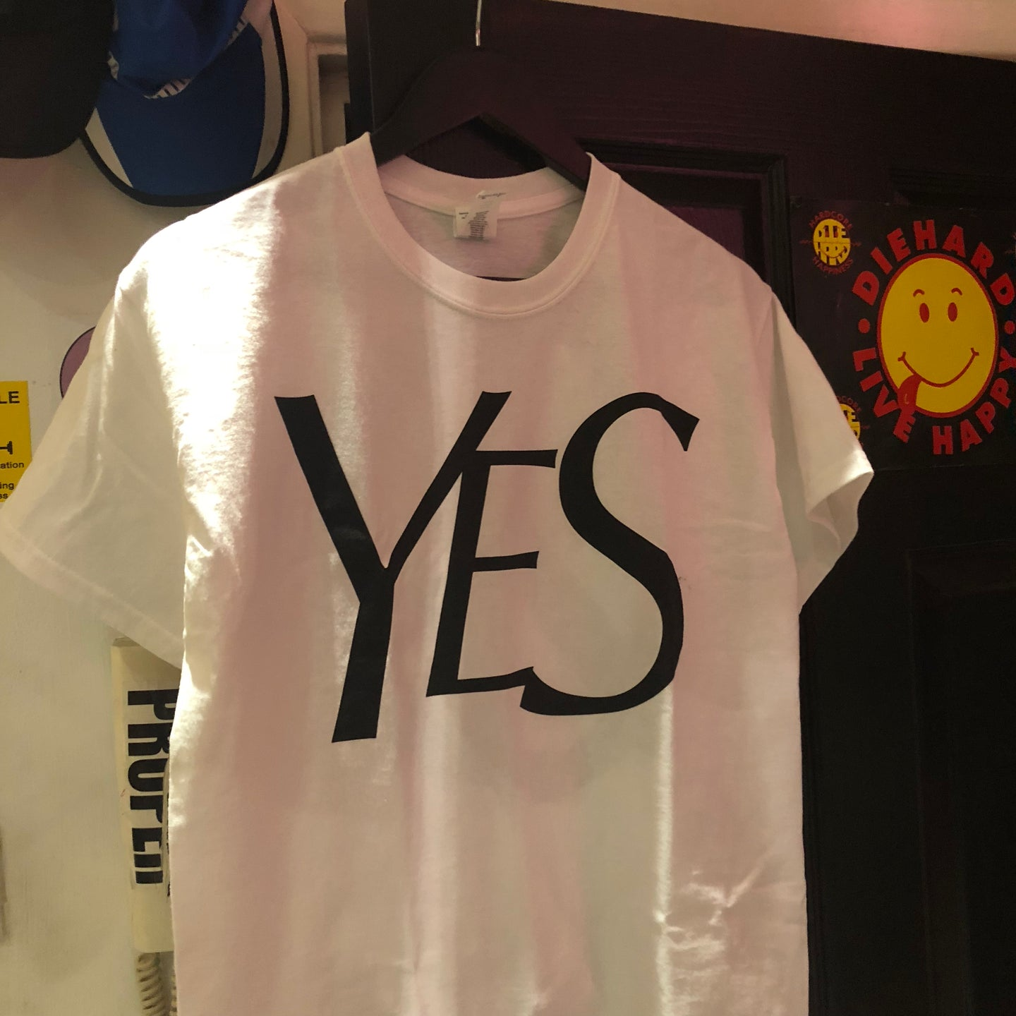 YES PEACE TEE WHITE