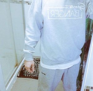 SPORTS BANGER ORIGINAL LOGO JUMPER GREY