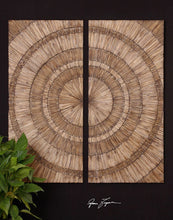 Load image into Gallery viewer, Lanciano Wood Wall Panels, S/2