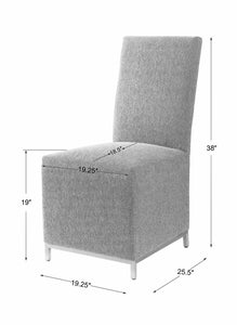 Gerard Armless Chair, 2 Per Box