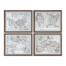Load image into Gallery viewer, World Maps Framed Prints