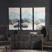 Load image into Gallery viewer, Crashing Waves Hand Painted Canvas