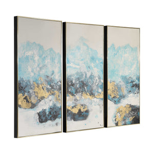 Crashing Waves Hand Painted Canvas