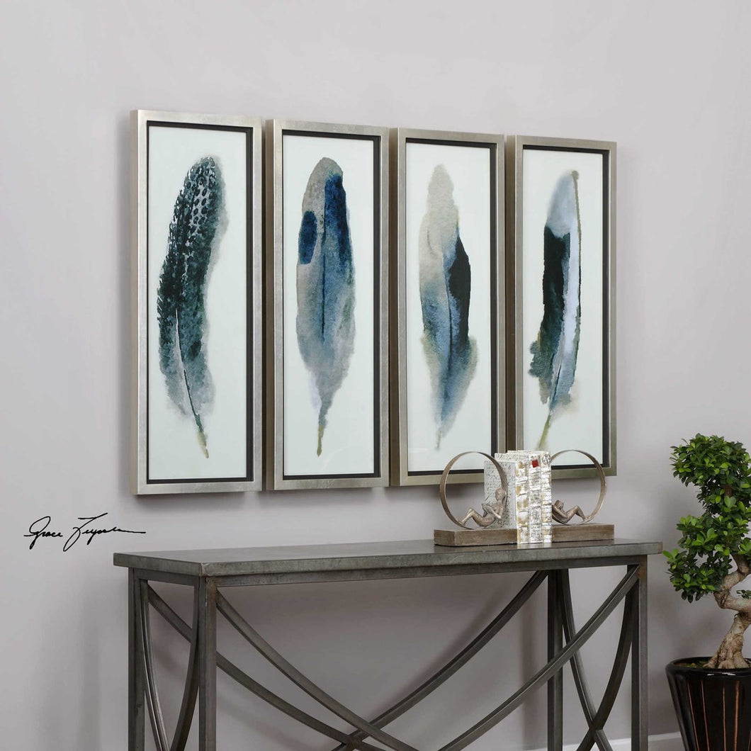 Feathered Beauty Framed Prints