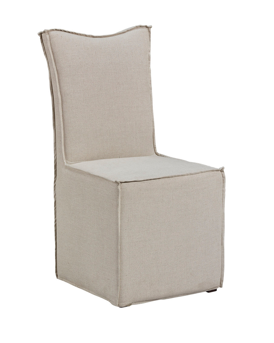 Thora Linen Dining Room Chair