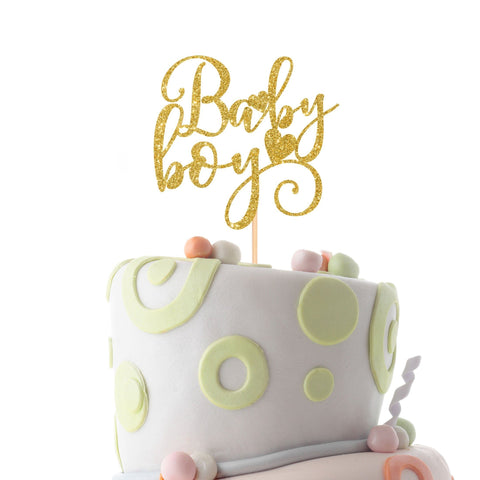 Baby boy cake topper. Baby shower cake topper. Welcome baby boy party cake